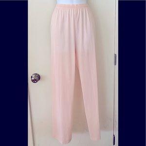 Vanity Fair Vintage Light Pink Pajama Bottoms